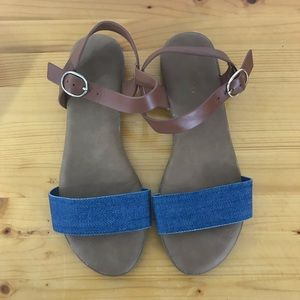 BAMBOO Jean Sandals